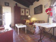 Salón apartamento rural lindascasas